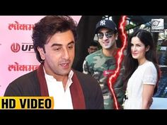 Looks like Ranbir Kapoor has now moved on in his life and so he seemed to be quite comfortable talking about his ex girlfriend Katrina Kaif. Check out the video to know what Katrina had to say.