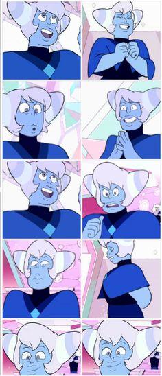 Blue Lace Agate - Steven Universe