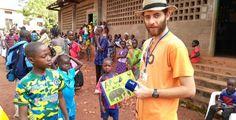 Děti ze Středoafrické republiky už dostávají slabikáře, na něž přispěla Plzeň