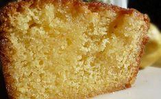 Moist Lemon Cake Recipe (soaked with lemon syrup) My Recipes, Cake Recipes, Cooking Recipes, Limoncello Cake, Lemon Chess Pie, Clafoutis Recipes, Citrus Cake, Lemon Syrup, Almond Cakes