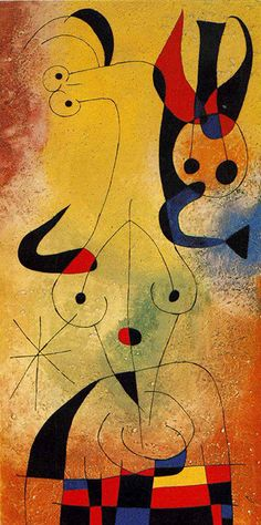 Dawn Perfumed by a Shower of Gold - 1954 Joan Miro, peintre espagnol. Spanish Painters, Spanish Artists, Kandinsky, Giacometti, Joan Miro Paintings, Jackson Pollock, Pablo Picasso, Surreal Art, Art Plastique