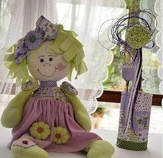 cloth doll otigo / textilná bábika strapúšik
