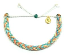Pacific Sunrise Braided | Pura Vida Bracelets. Discount DERKS10 saves 10%