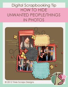 Master's Monday: Hiding Unwanted People/Things In A Photograph