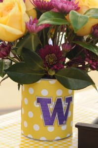 Easy tailgate crafts to cheer on your Favorite sports teams!