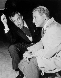 Ronald Colman and Vincent Price