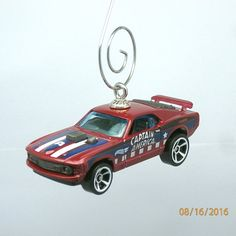 1970 70 Captain America Mustang Car Christmas by BettyGiftStore