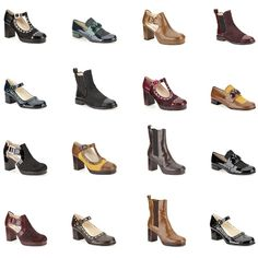 Clarks + Orla Kiely = exklusive Designerschuhe im Retro-Look. Alle Modelle gibt es ab dem 5. September auf http://www.clarks.de/c/orla-kiely-schuhe