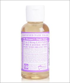 Lavender Castile Liquid Soap FairTrade, ORGANIC