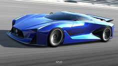 Nissan CONCEPT 2020 Vision Gran Turismo - P03 by M2M-design on DeviantArt