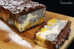 Tvarohový koláč s broskyňami a makom - recept   Varecha.sk