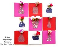 Mini Vase Carfs for Real Flowers – here is an adorable Card Making Idea – turn your cards into mini vases for REAL FLOWERS! These are perfect for Valentine's Day, Mother's Day or as Teach Appreciation cards. Aren't they the cutets? They are a gorgeous guest post by Mary Alice Baldwin from Brainy Beginnings Network …