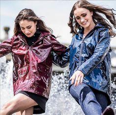 Rain Wear, Patent Leather, Raincoat, Kimono Top, Feminine, Punk, The Unit, Female, How To Wear