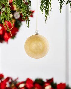 Gold & Glitter Collection Golden Glitter Ornament