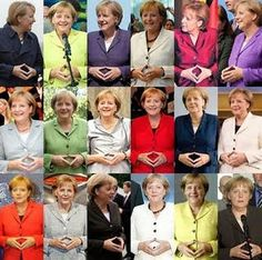 "Angela Merkel....Illuminati Satanic nazi elite & their ""secret"" communication with hand signs and other signs/symbolism."