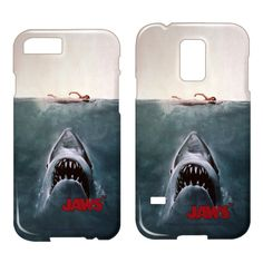 Jaws-Jaws Poster - iPhone Case, Samsung Galaxy & iPod