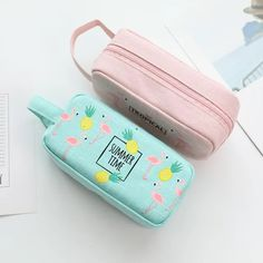 File Folder Imported From Abroad 2pcs Cute Document Filing Folder Productsoffice School Supplies Cheese Cat File Bag Kawaii Pvc A4 Stationery Bag Korean Style