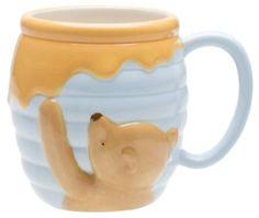Zak Designs Disney Winnie The Pooh Ceramic Sculpted Mug