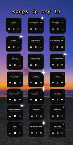 Music Mood, Mood Songs, Heartbreak Songs, Breakup Songs, Depressing Songs, Throwback Songs, Song Recommendations, Good Vibe Songs, Song Suggestions
