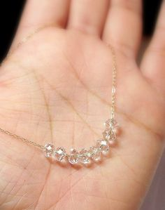 Sex and the City - Carrie Bradshaw Diamond Necklace -  925 Sterling Silver. $27.00, via  love love love