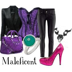"""""""Maleficent"""" by rizzo87 on Polyvore"""