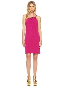 #FallingInLoveWith... MICHAEL Michael Kors One-Shoulder Jersey Dress $130