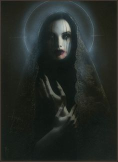 BetweenMirrors.com | Art + Culture Collective: The Kindly Ones by David Stoupakis + Menton3 @ Last Rites Gallery
