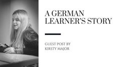 It's always good to read how others get on with learning German. http://wu.to/o6GOoM