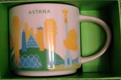Astana   YOU ARE HERE SERIES   Starbucks City Mugs