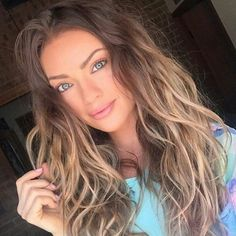 Balayage sur cheveux chatain – cool idée