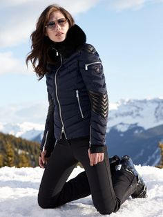 7a3b7d19ad Clothilde Jacket With Fur by Toni Sailer More Mens Ski Clothes