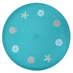 Florida Marketplace Seashell Embroidered Placemat | Bealls Florida