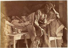 Hard Time, por O.G Rejlander, 1860 - Sobreposição