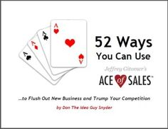 Ace of Sales and Free ebook! Trump You, Free Ebooks, How To Get, Messages, Toys, Activity Toys, Clearance Toys, Gaming