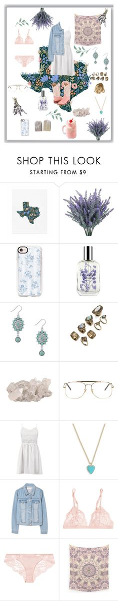 """""""Back to my Roots"""" by dorkbot2000 ❤ liked on Polyvore featuring Casetify, Caswell-Massey, Lucky Brand, Ray-Ban, Boohoo, Vera Bradley, MANGO, La Perla, Rachel Rachel Roy and country"""