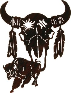 """See our web site for additional details on """"metal tree art decor"""". It is an exceptional spot to find out more. Large Metal Wall Art, Metal Wall Art Decor, Metal Art, Buffalo Skull, Interior Design Books, Laser Cut Metal, Laser Cutting, Native American Art, American Bison"""