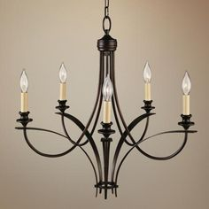 """Murray Feiss Boulevard Collection 25 1/2"""" Wide Chandelier - at Lamps Plus.  Already on the board,  compare price"""