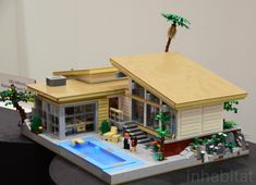 lego world photo gallery   2012! Villa Hillcrest Lego House by Kenneth Parel-Sewell - Gallery ...