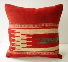 Sukan: Turkish Kilim Pillow.