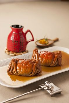 Hairy crab with rice wine sauce