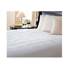 Sunbeam Premium Quilted Heated Electric Mattress Pad Box Pattern King Size by Sunbeam. $129.95. 5 Year Manufacturer's Limited Warranty. Sunbeam, America's #1 Heated Mattress Pad!. Save up to 10% a year on your heating bills by turning on your heated mattress pad and setting your thermostat back by 10%-15%. Digital Control with Personalized Heat Settings, Auto-Off and Preheat Features. 100% Quilted Cotton Top, Fits Matresses up to 21 inches deep. Warmth and relaxation await ...