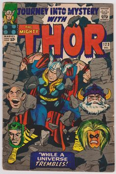Journey Into Mystery #123 The Mighty Thor! 1.0 Fair