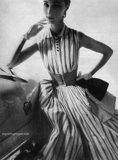 Vintage Harper's Bazaar 1954 | Ms Zanna Speaks