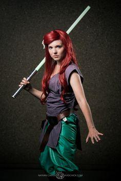 Ariel - Disney Jedi Princesses #DragonCon2013
