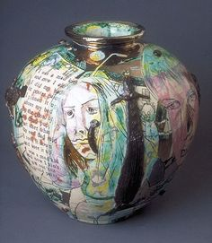Felt Images: The British Word continued : Grayson Perry