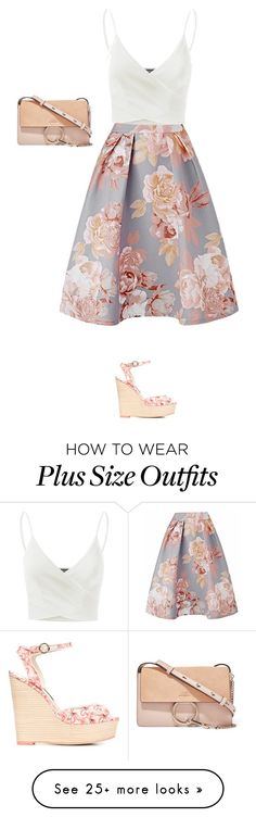 """""""Untitled #5090"""" by linda56draco on Polyvore featuring Sophia Webster, Doublju and Chloé"""