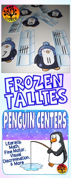 203 pages of penguin centers. Activities include literacy, math, ordinal numbers, shapes, numbers, counting, beginning sounds, color words, letter order, alphabet, winter activities, ten frames, tally marks, size sorting, letter matching, subitizing, number sets, visual discrimination, number words, cardinality, fine motor, and more. For kindergarten, preschool, SPED, child care, homeschool, or any early childhood setting.