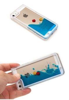9338542c0c2 funda acrilico agua pez diseño iphone 5s 6 + film Fundas Para Iphone 5s,  Accesorios