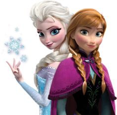 Disney Frozen's Princesses Elsa and Anna. Finally a Disney tale set in Scandinavia! (even if it is only loosely based on Norway)
