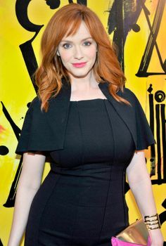 Christina Hendricks attends Launch Of CHOO.08 hosted by Jimmy Choo's Sandra Choi in Beverly Hills. Hair by Gregory Russell.